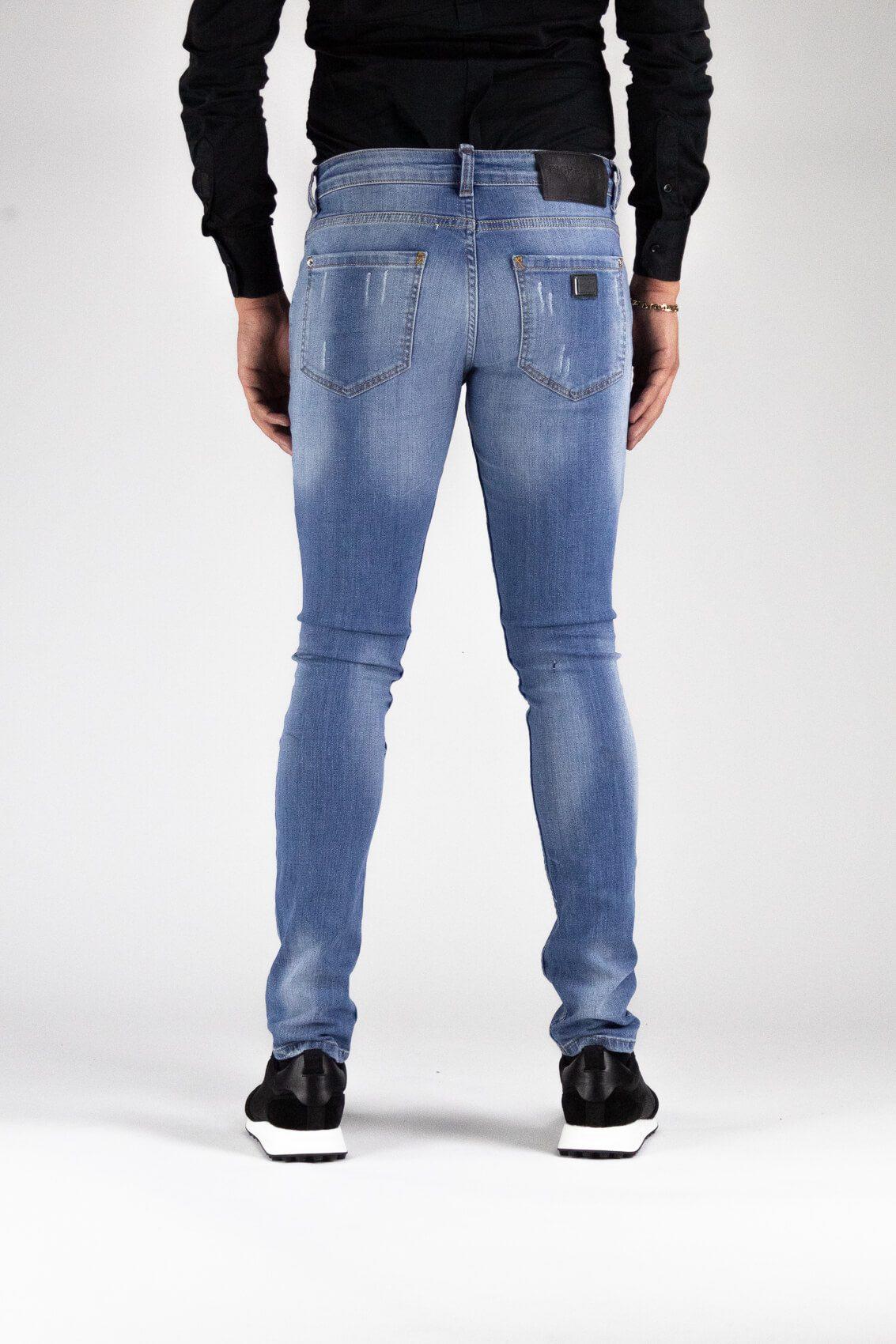 Marseille Bleu Clair Jeans 4