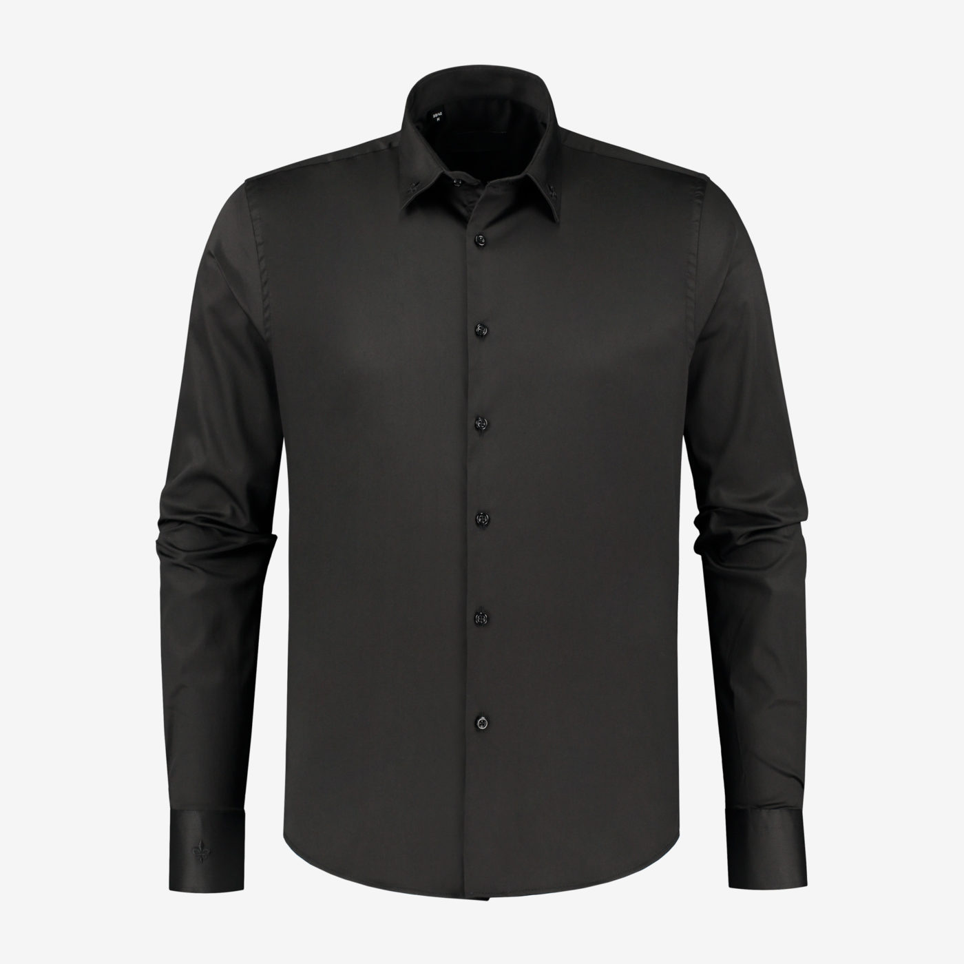 Richesse-Classic-Black-Shirt_Front