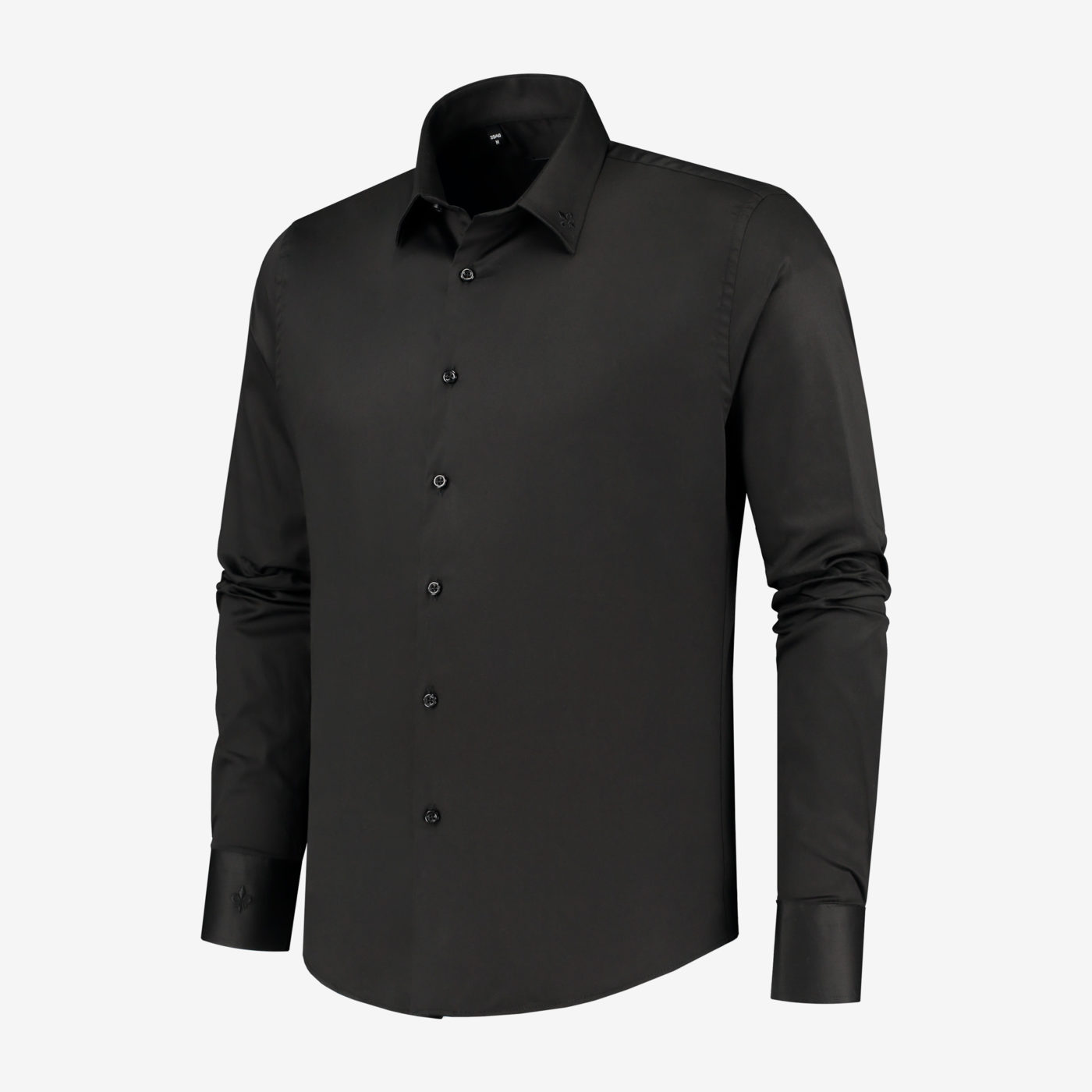 Richesse-Classic-Black-Shirt_Side