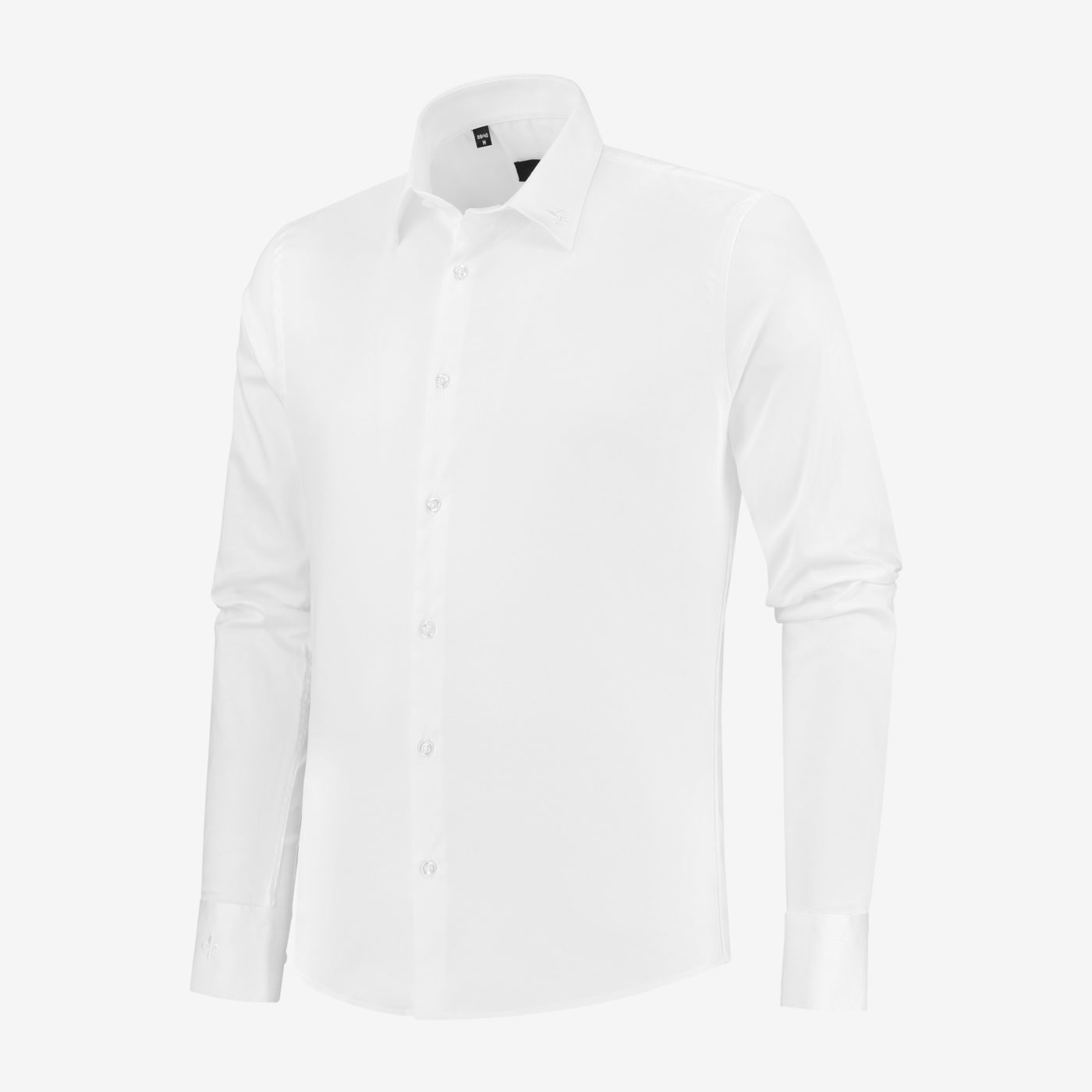Richesse-Classic-white-Shirt_Side
