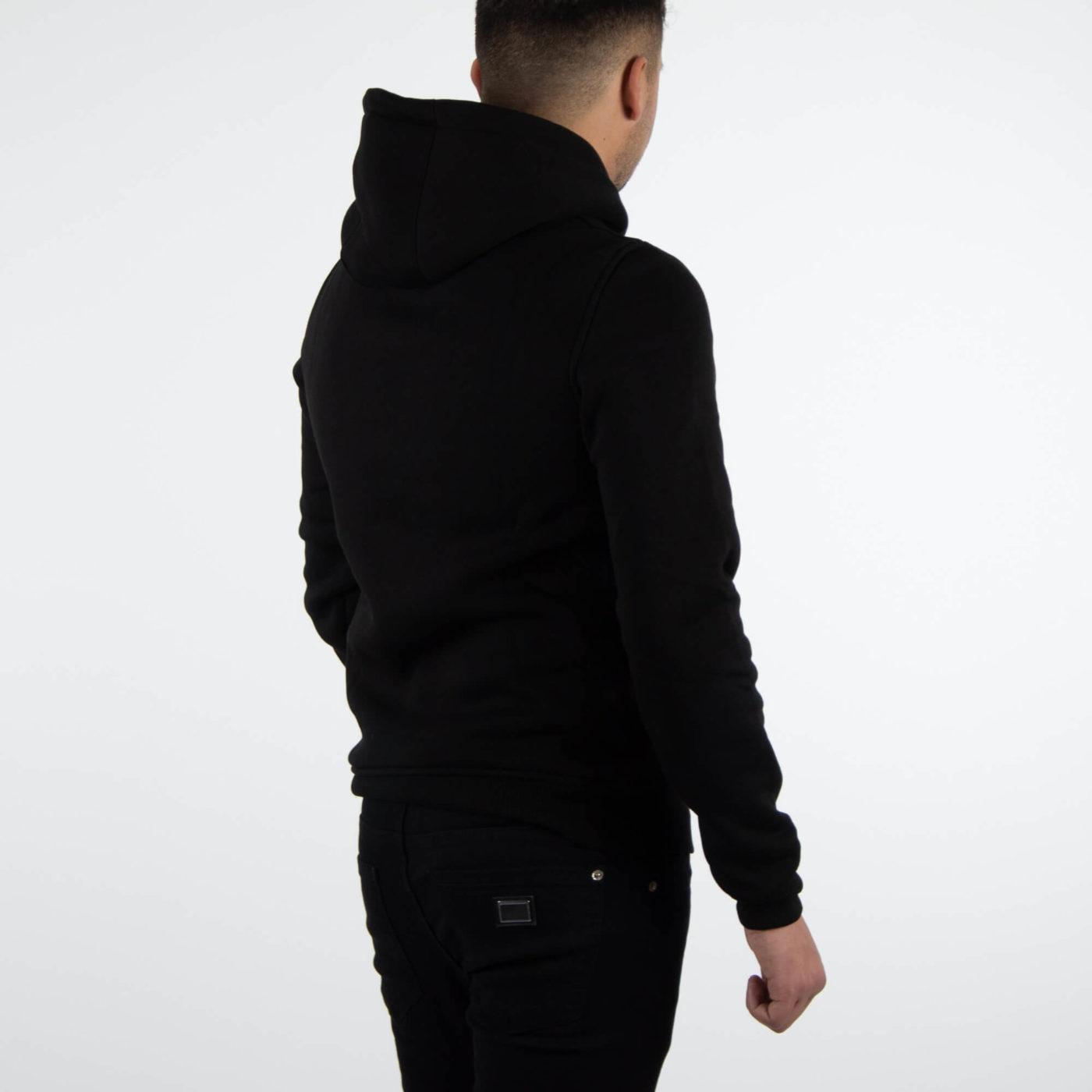 Richesse Brand Black Hoodie 4