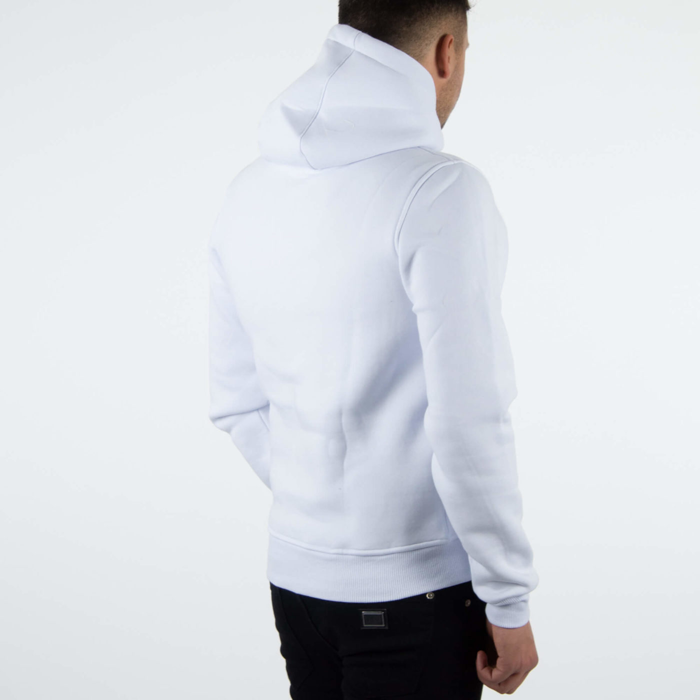 Richesse Brand White Hoodie 4