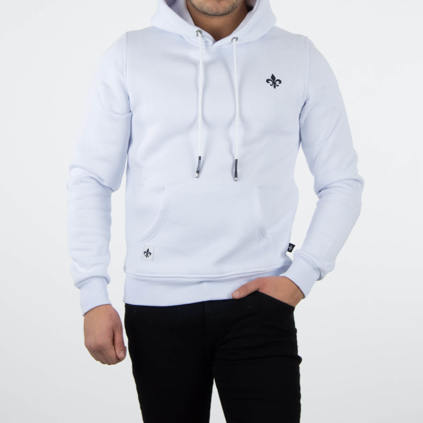 Richesse Infantry White Hoodie 1