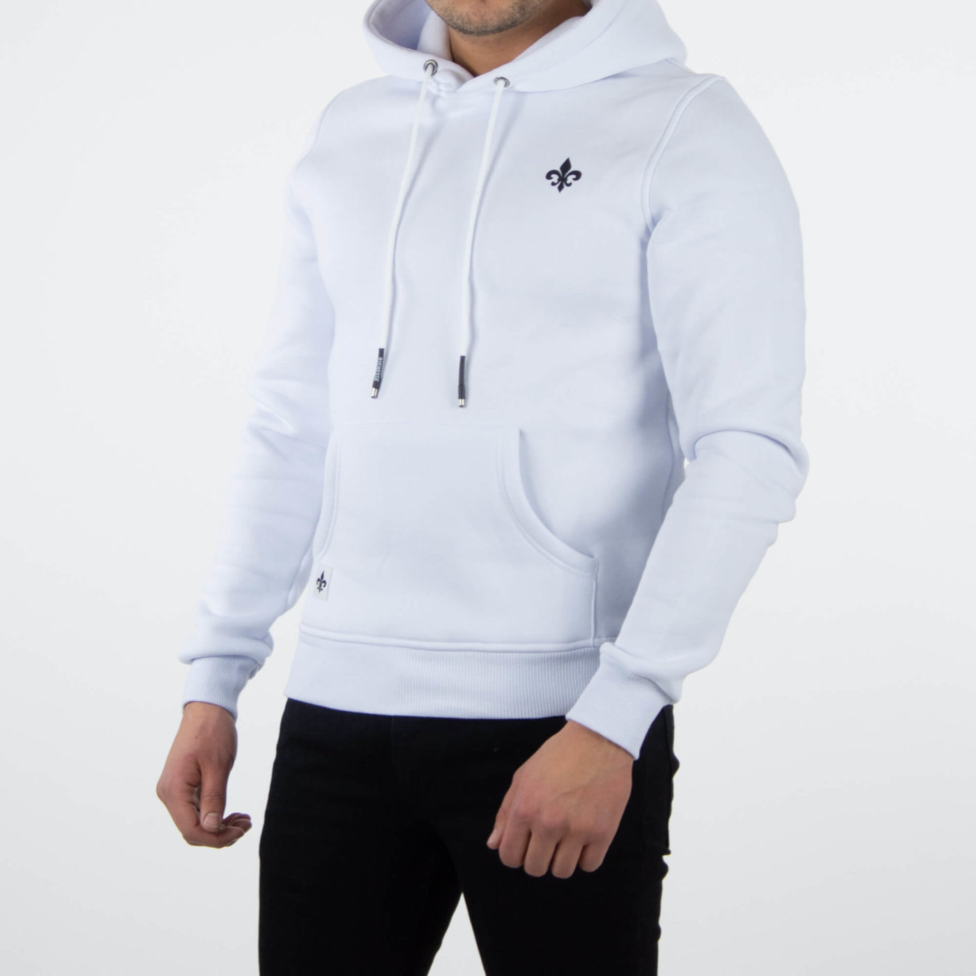 Richesse Infantry White Hoodie 3