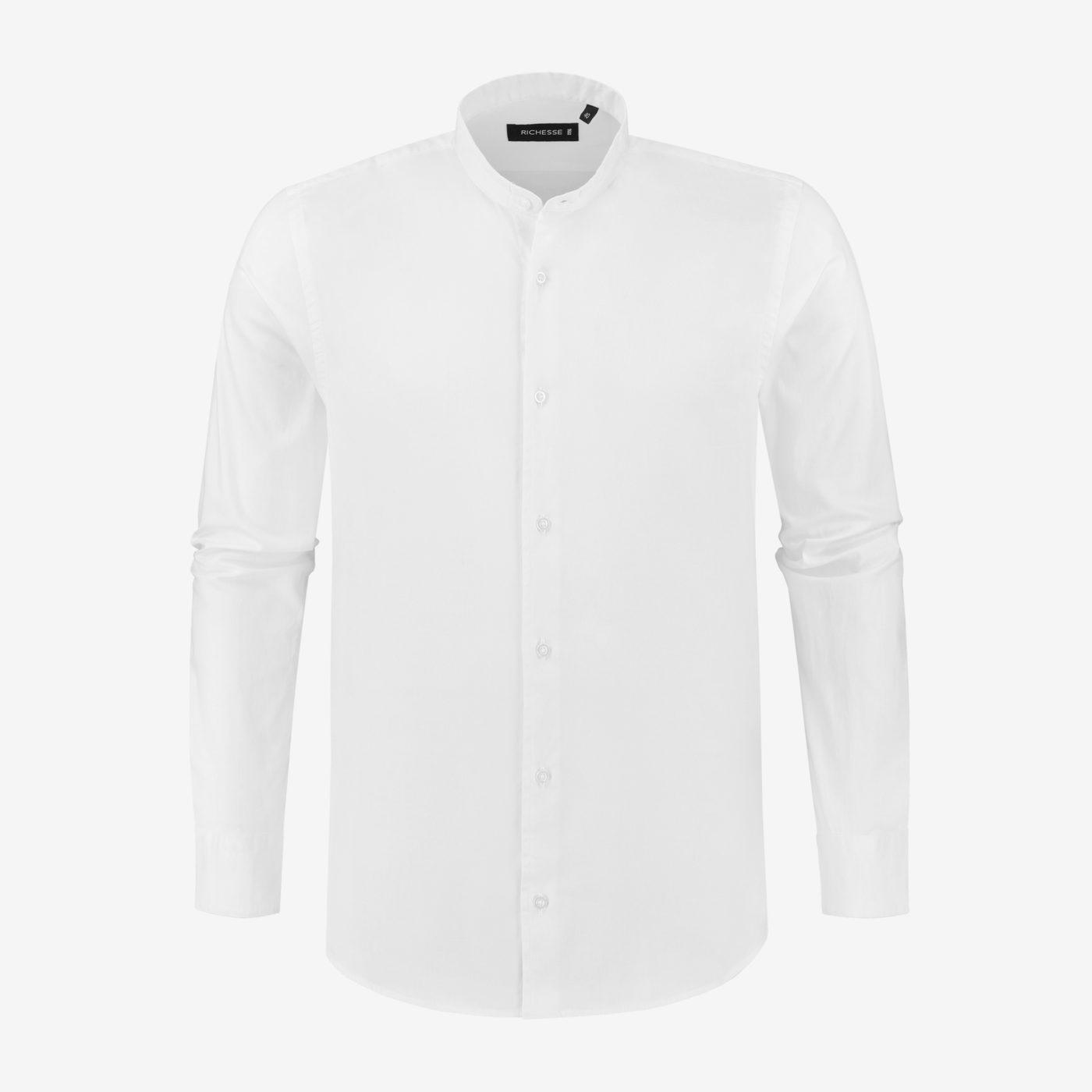 Richesse-Mandarin-White-Shirt_Front