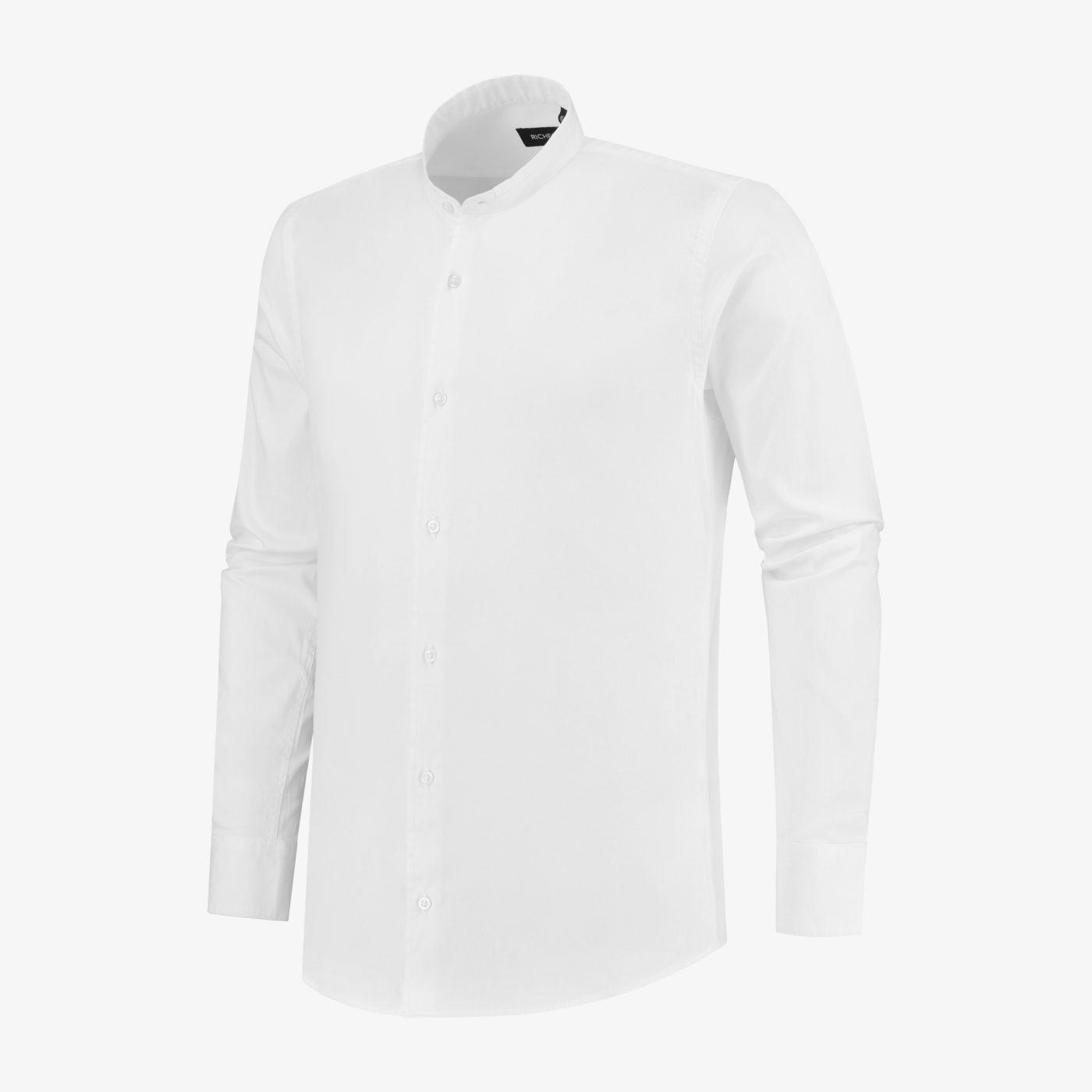 Richesse-Mandarin-White-Shirt_Side