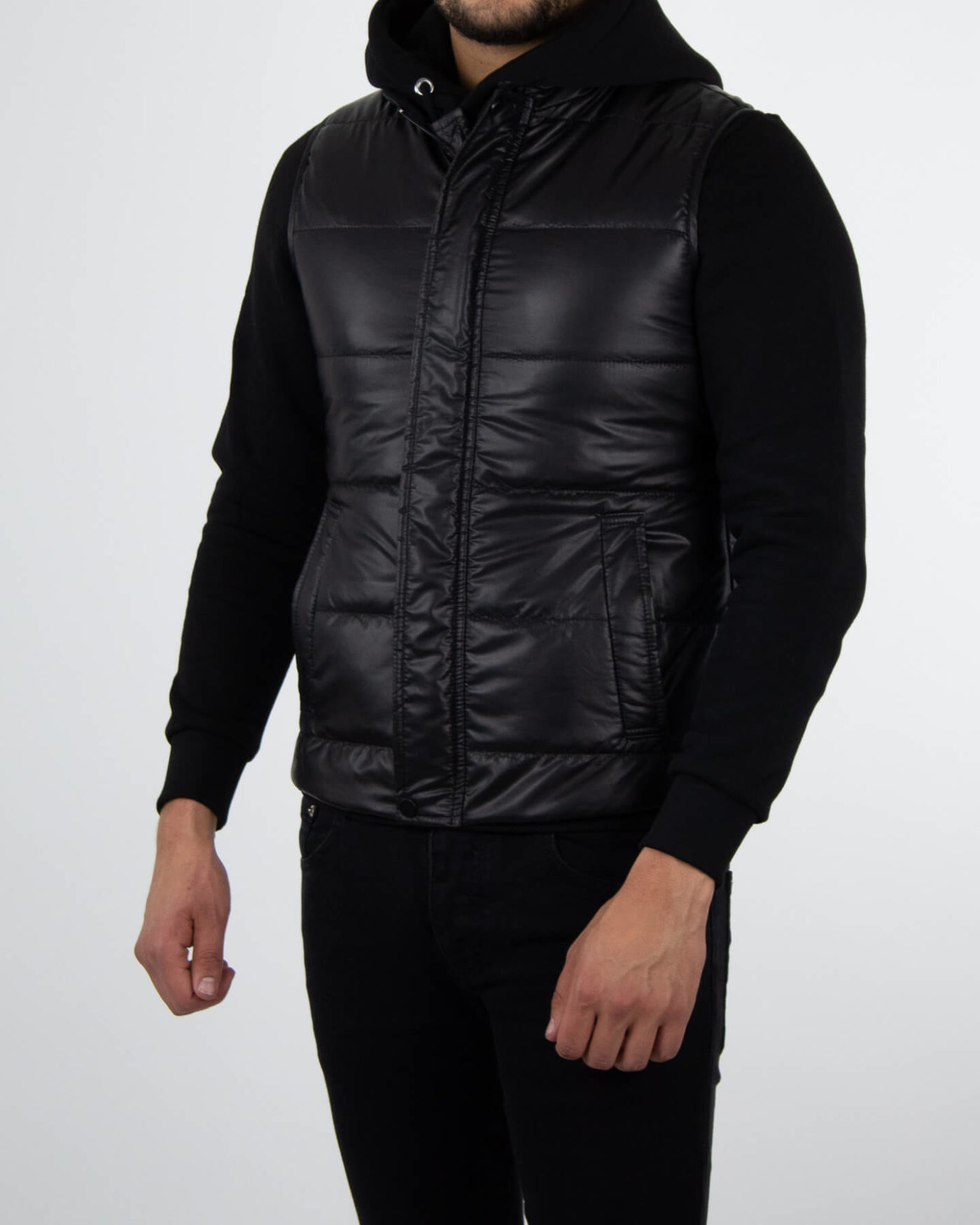 Richesse Deluxe Bodywarmer Black-3