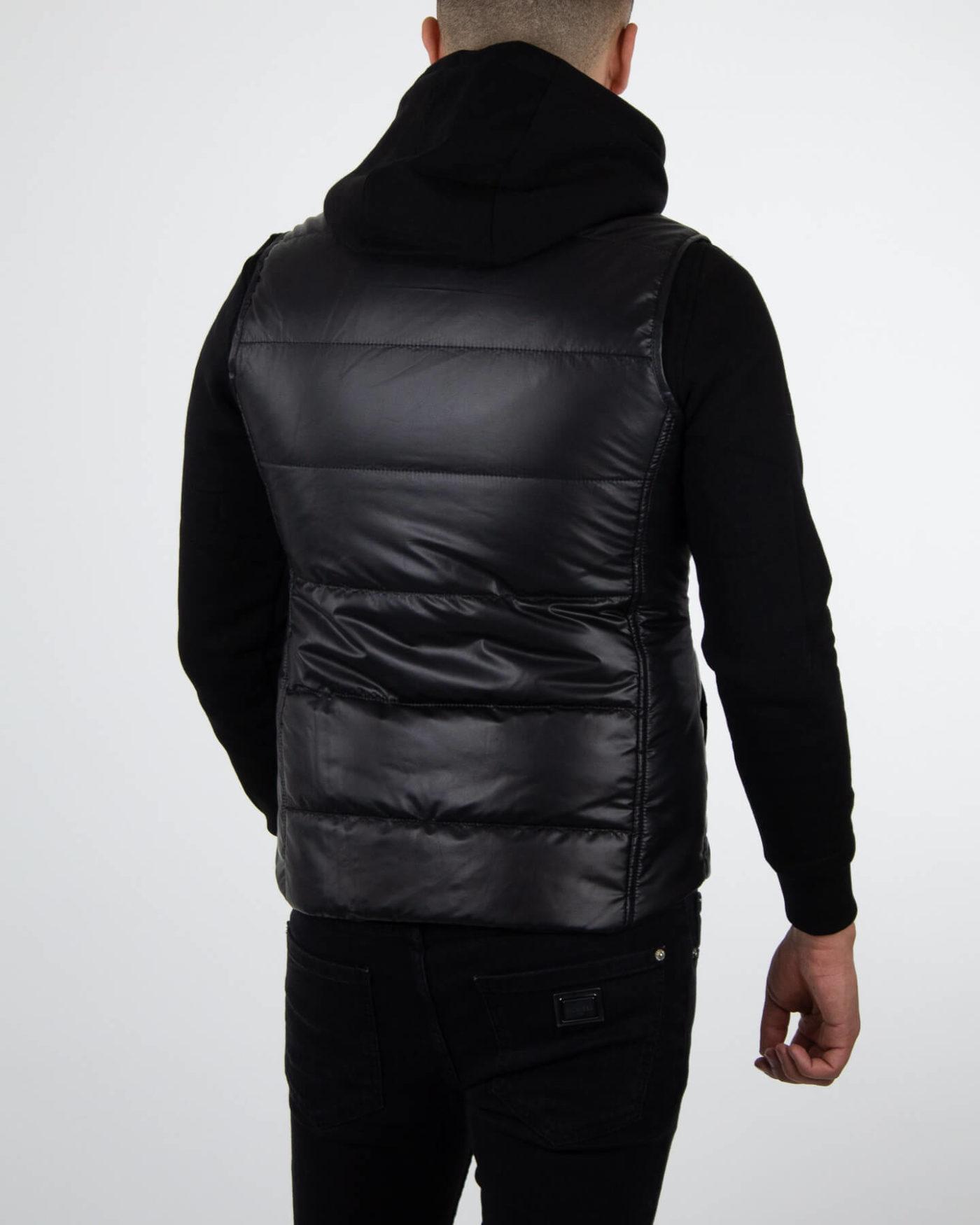 Richesse Deluxe Bodywarmer Black-4