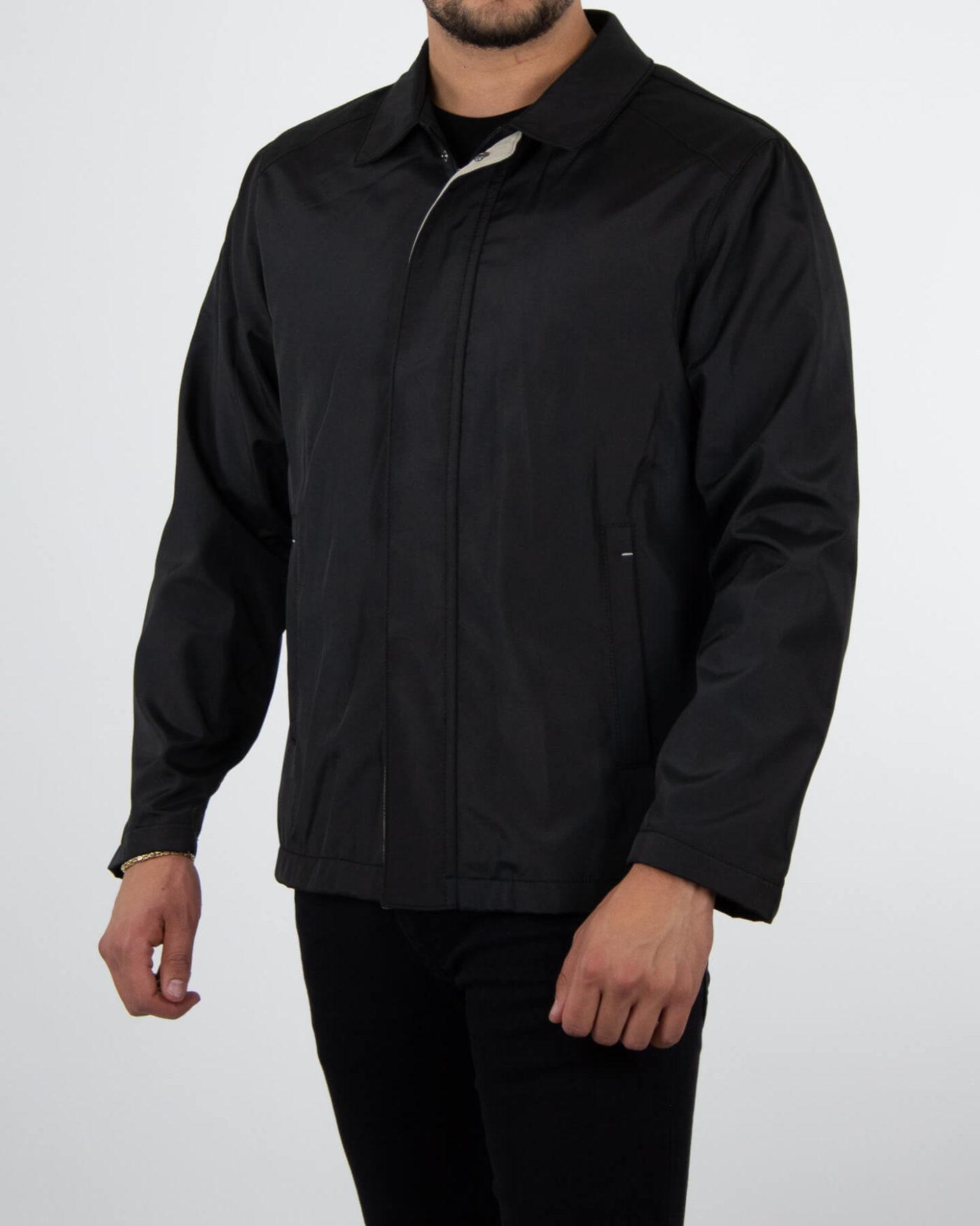 Richesse Trenchcoat Black-2