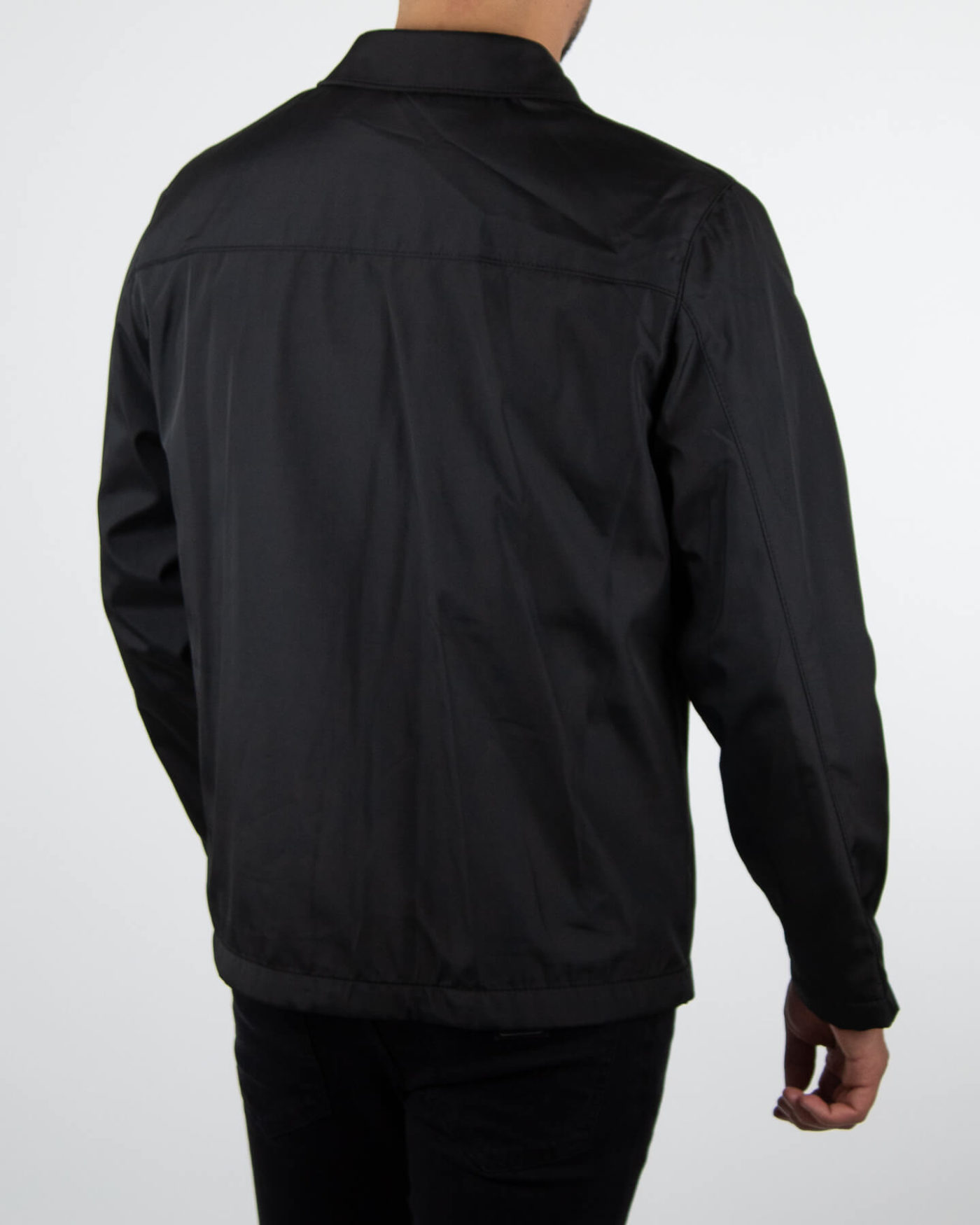 Richesse Trenchcoat Black-3