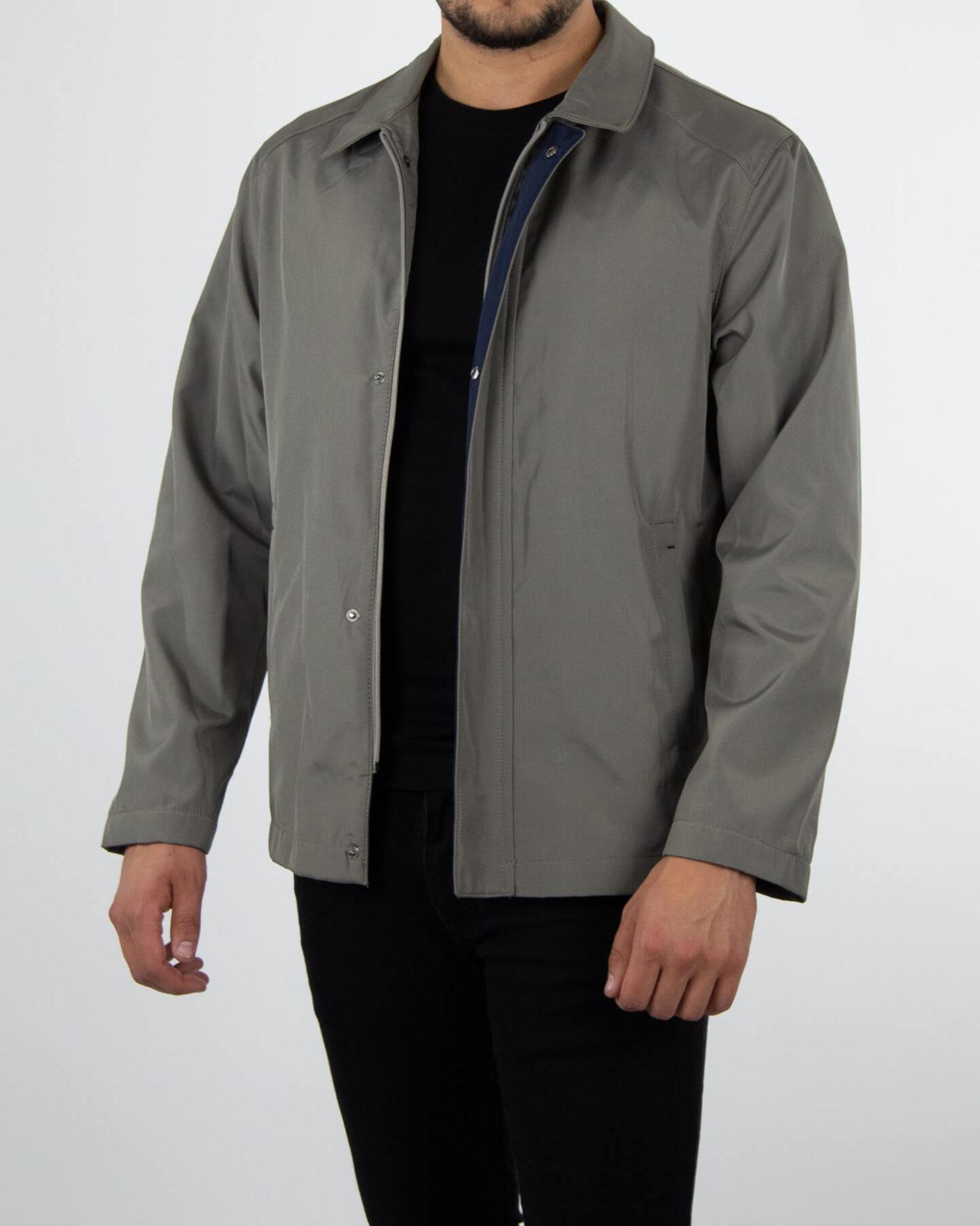 Richesse Trenchcoat Grey-1