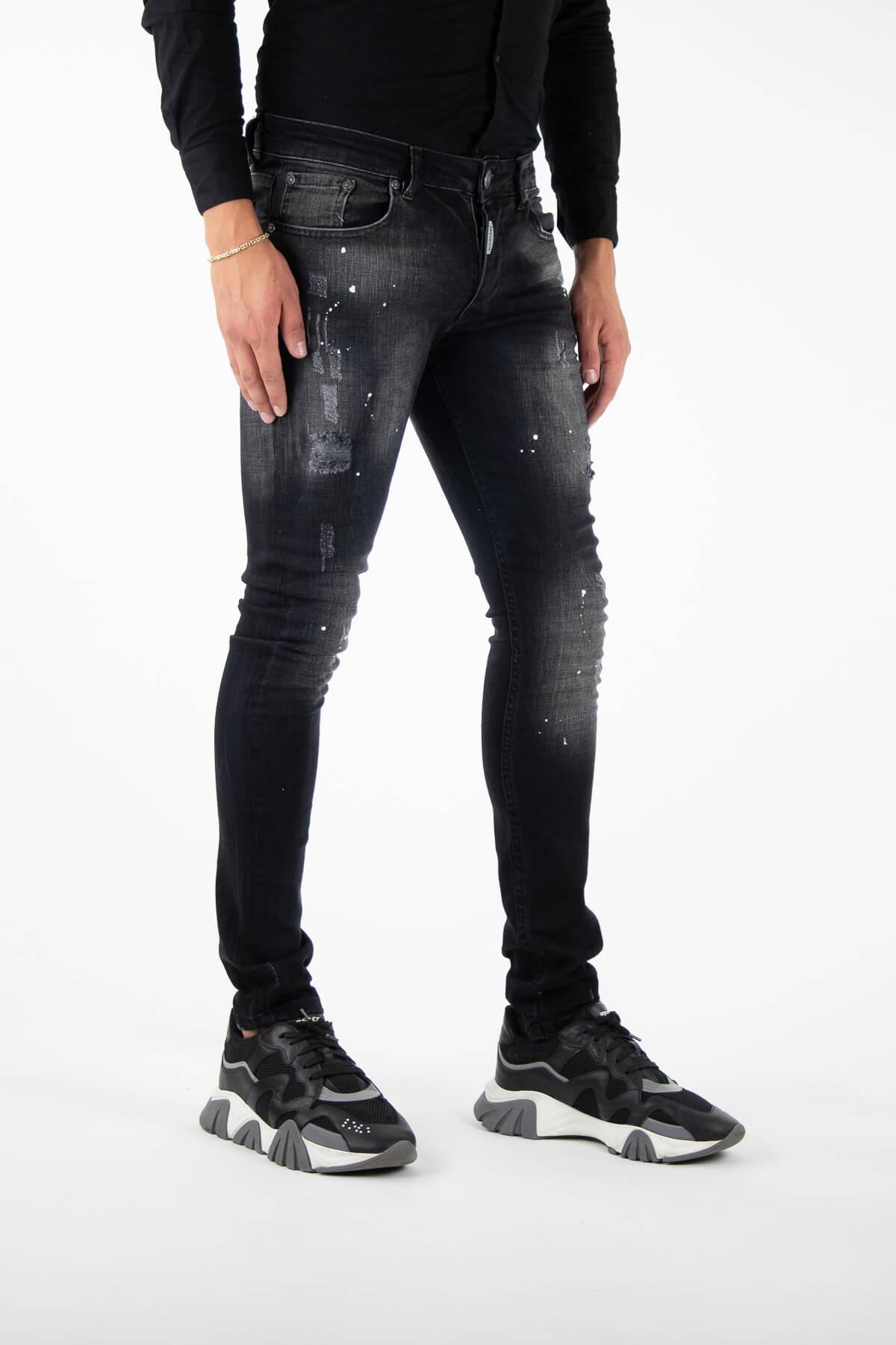 Alicante Deluxe Black Jeans-2