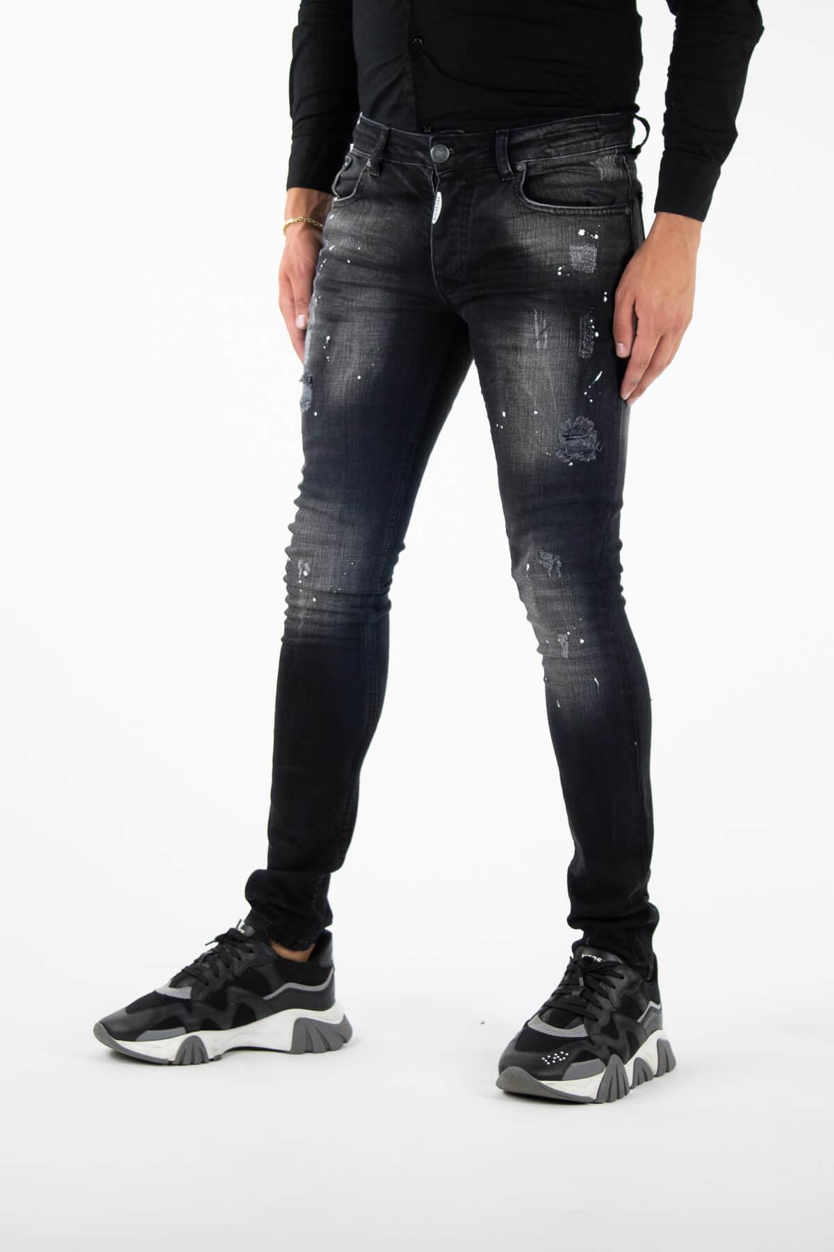 Alicante Deluxe Black Jeans-3