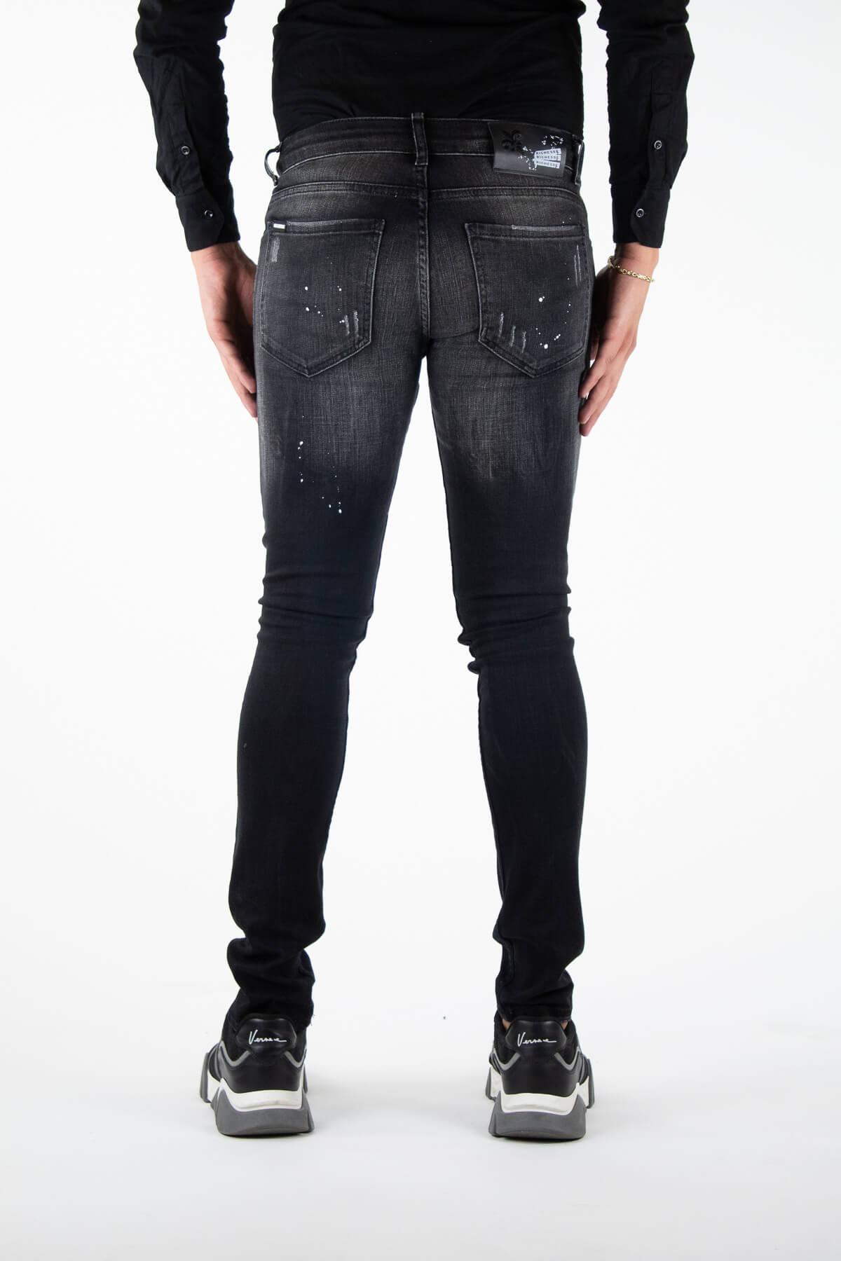 Alicante Deluxe Black Jeans-4