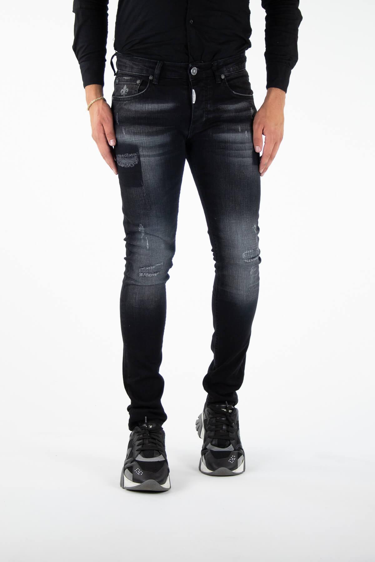 Novara Black Jeans-1