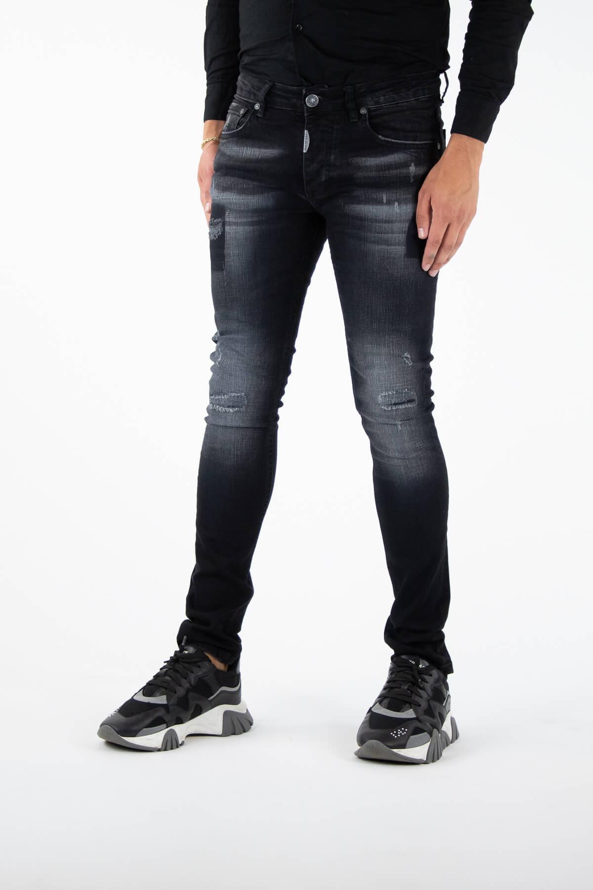 Novara Black Jeans-3