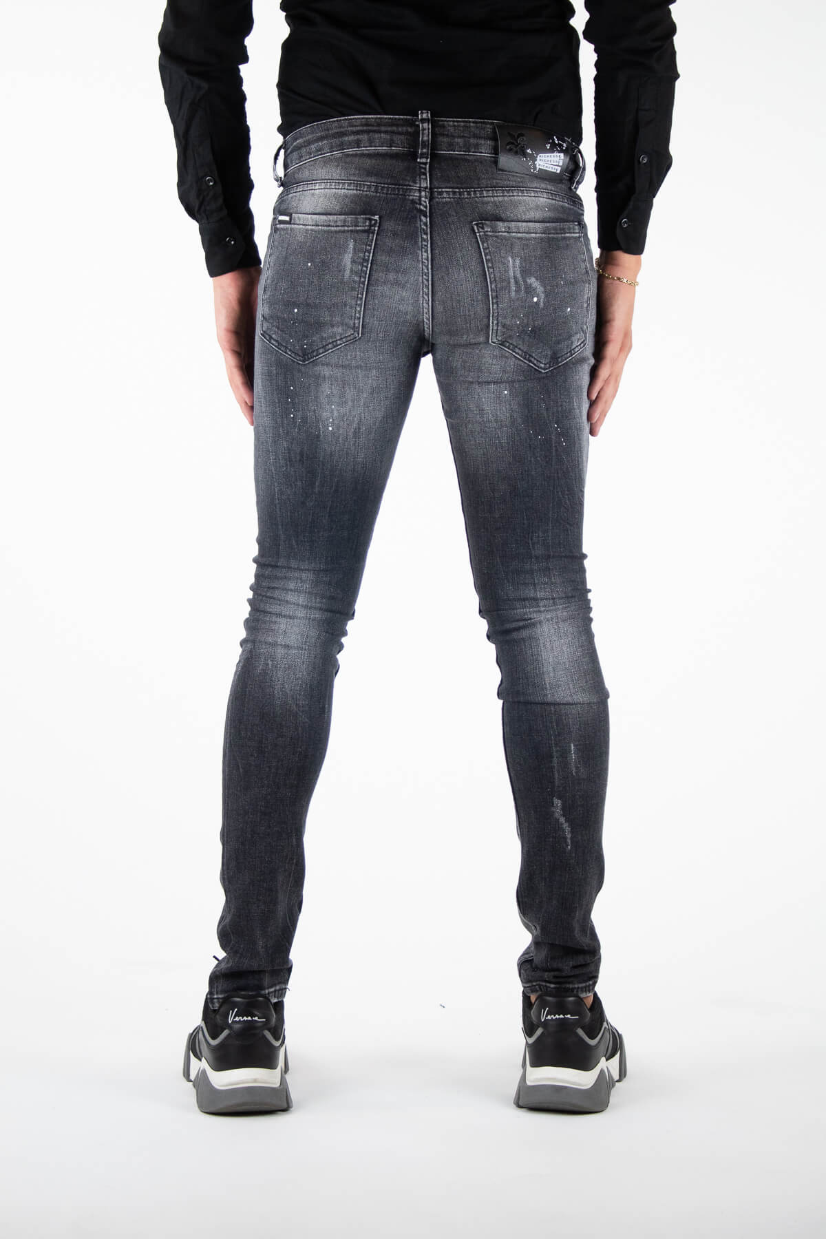 Palencia Deluxe Grey Jeans-4