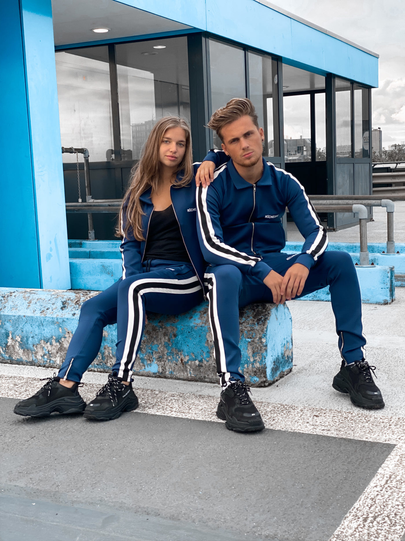 Hollywood Blue Tracksuit