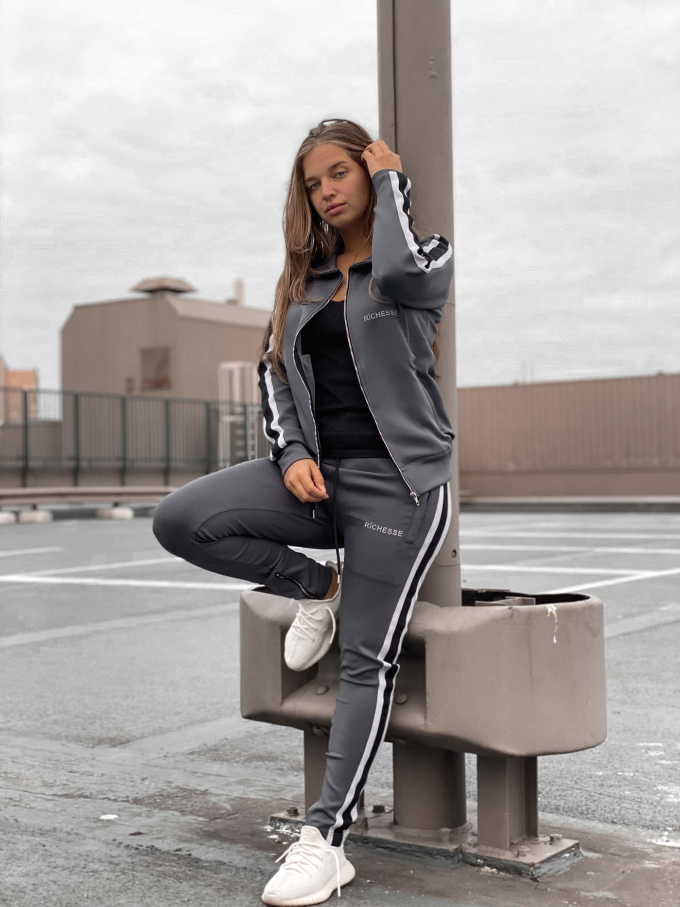 Hollywood Grey Tracksuit