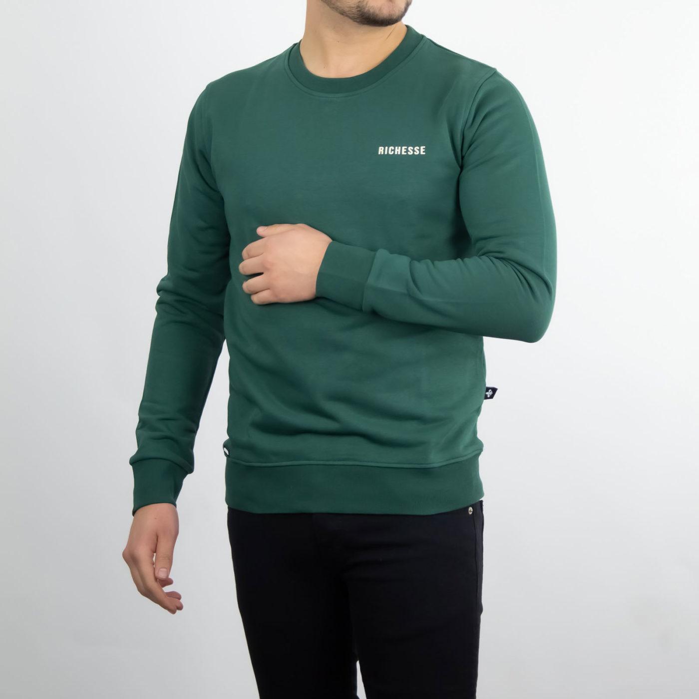 Richesse-Crewneck-Green-1