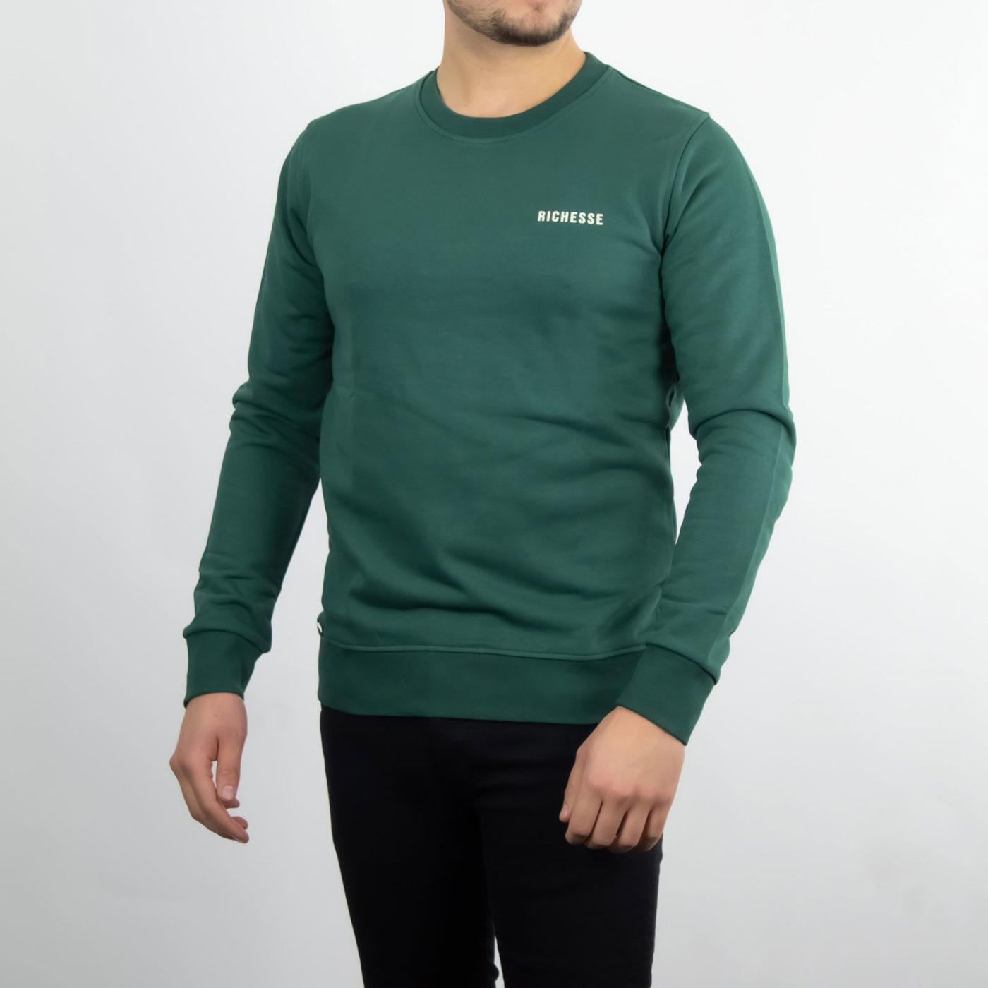 Richesse-Crewneck-Green-2