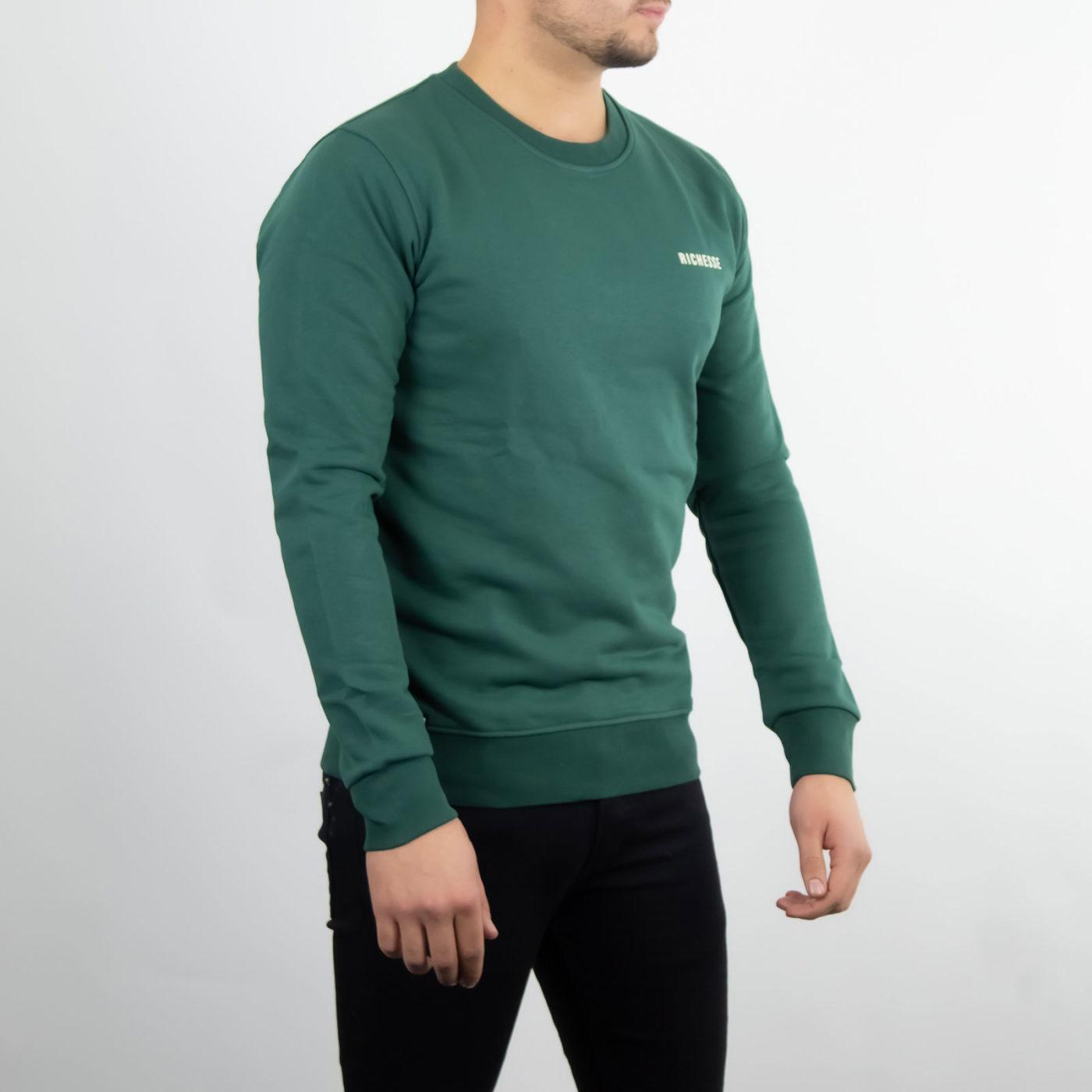 Richesse-Crewneck-Green-3