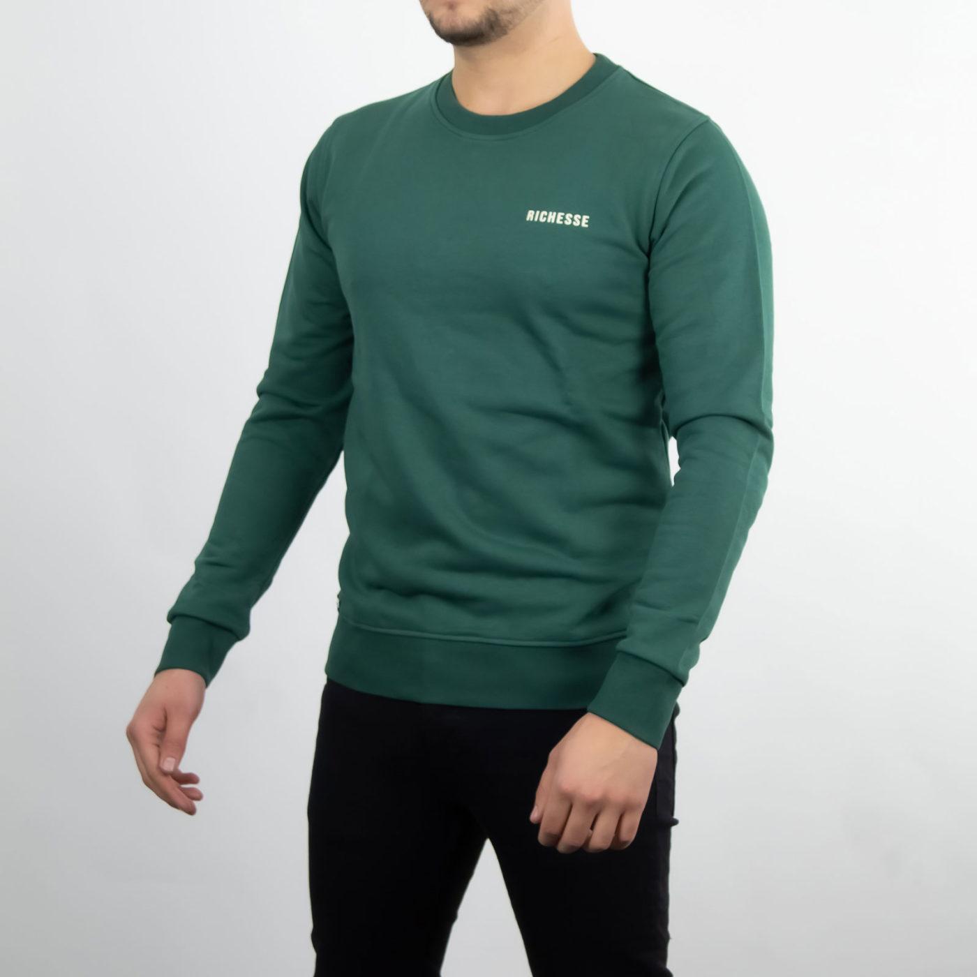 Richesse-Crewneck-Green-4