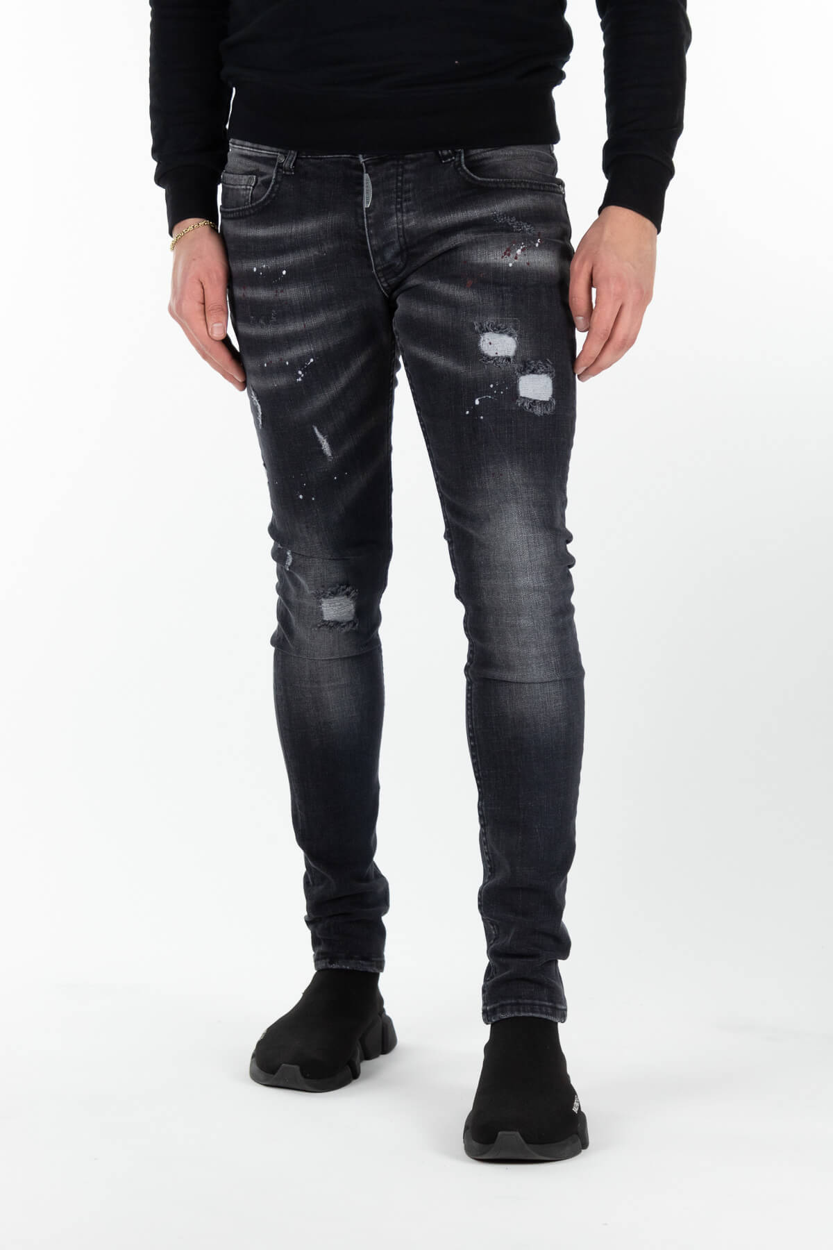Sevilla Deluxe Dark Jeans-1