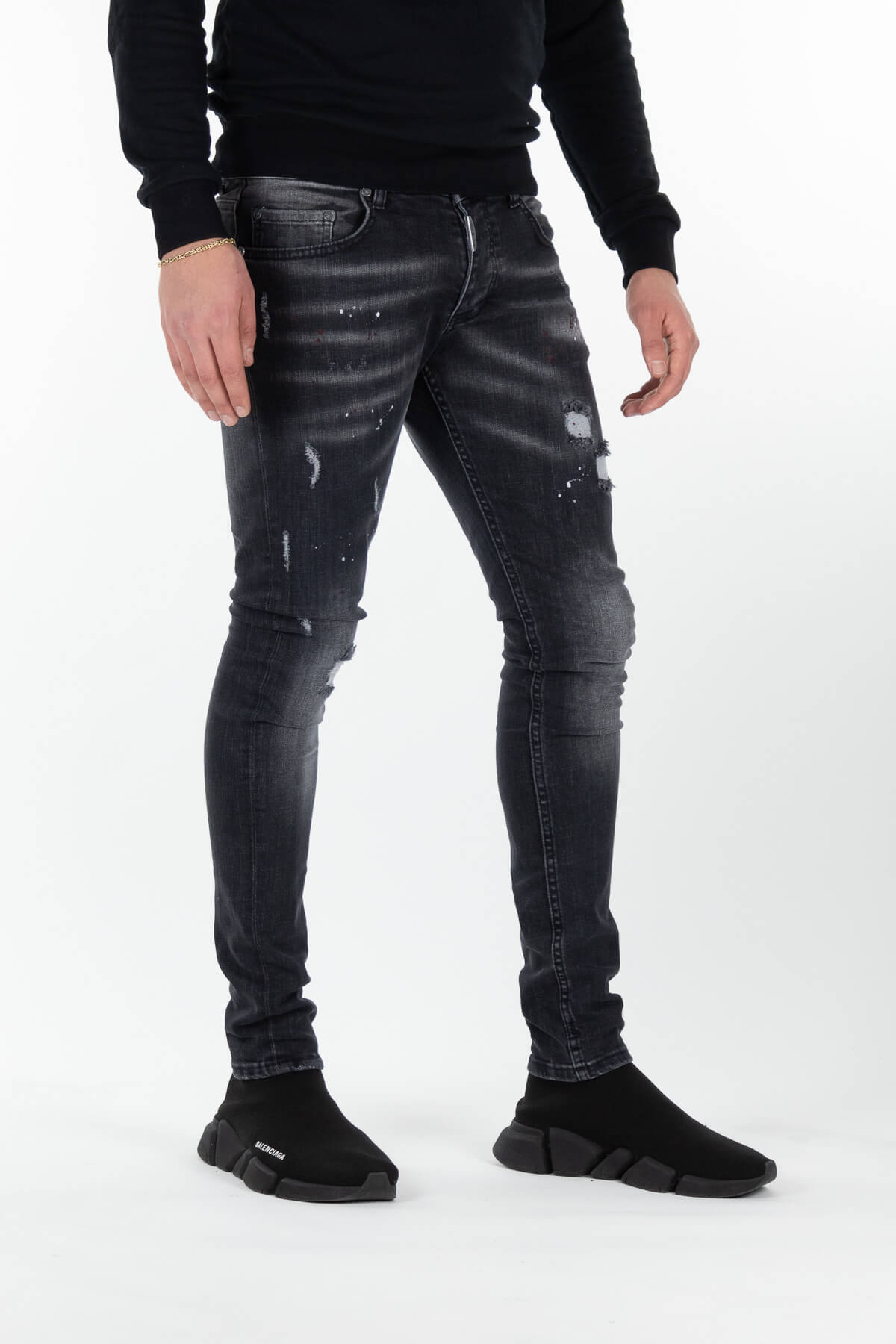 Sevilla Deluxe Dark Jeans-2