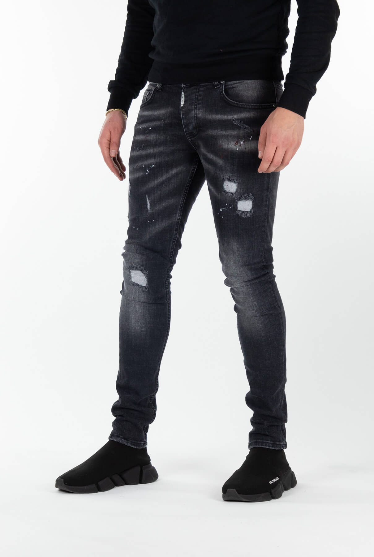 Sevilla Deluxe Dark Jeans-3