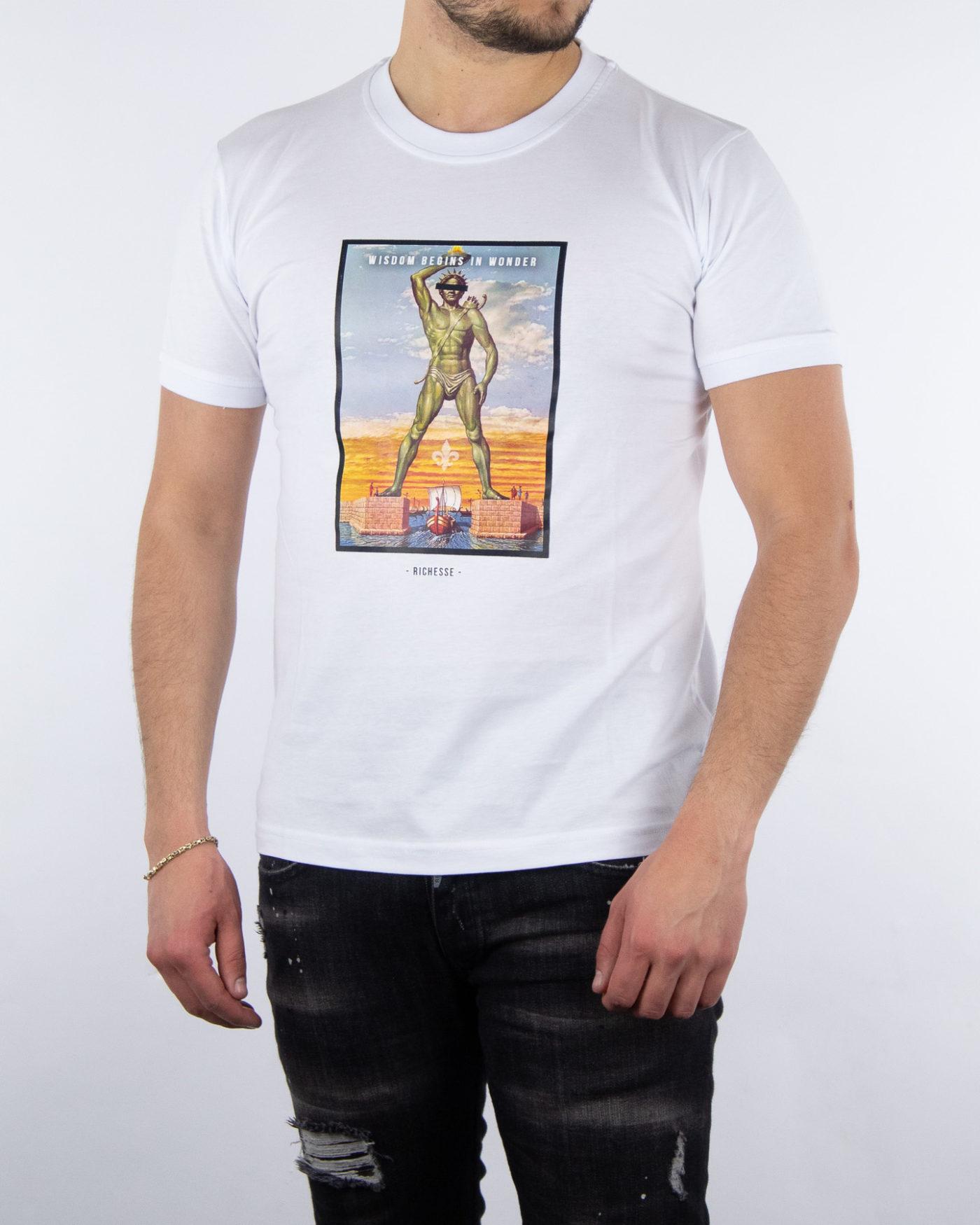 Rhodos White T-shirt-1