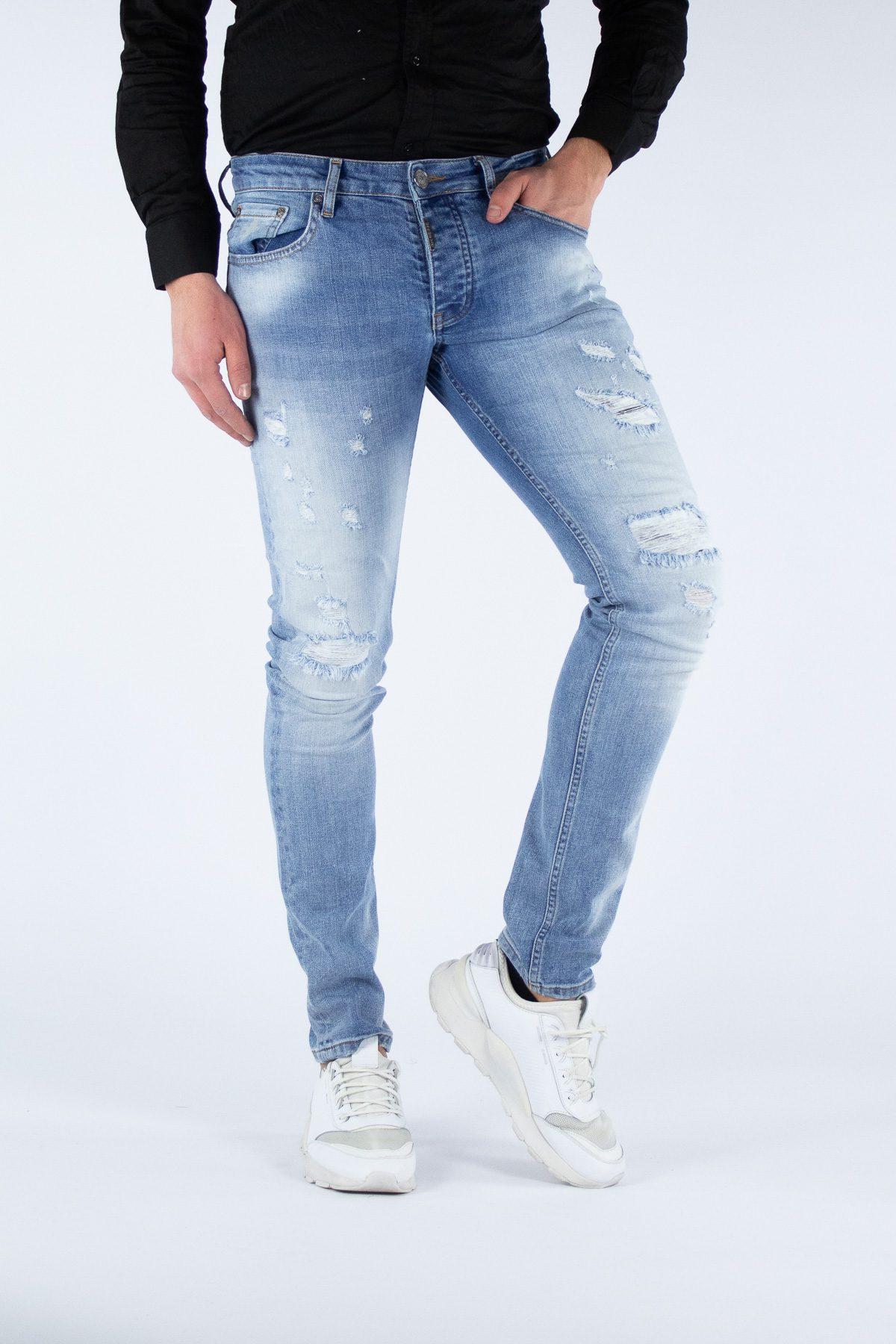 Clarity Light Blue Jeans – 2241-6-1