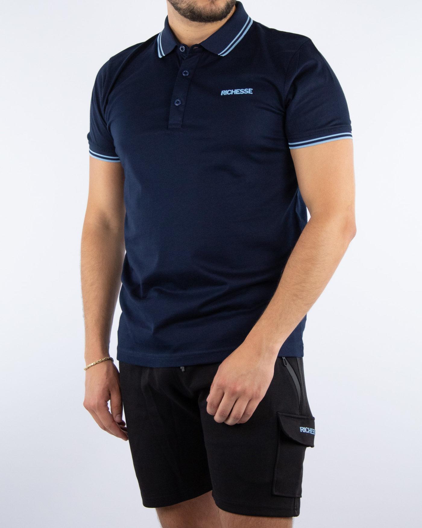 Sport Blue Polo-1