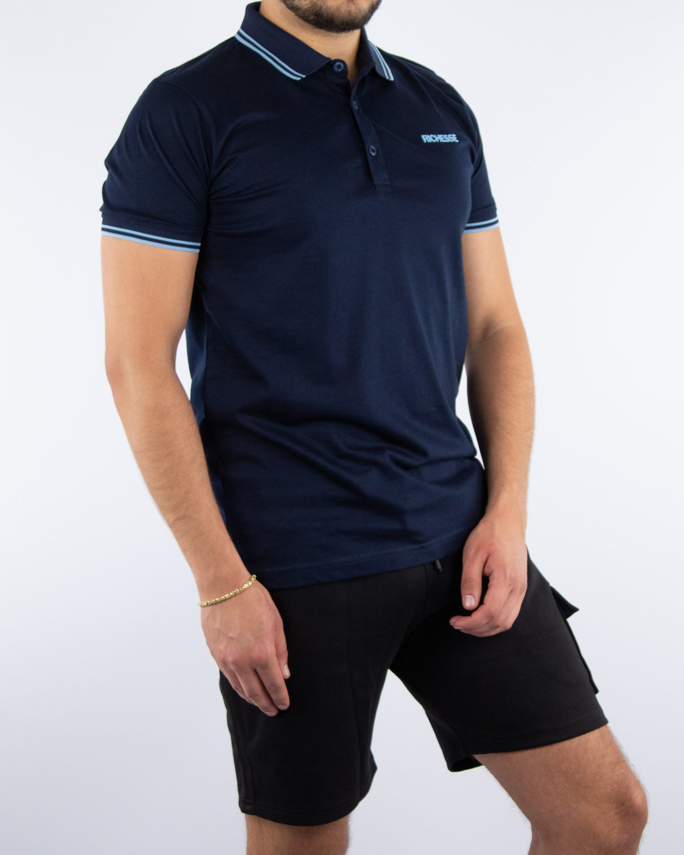 Sport Blue Polo-2