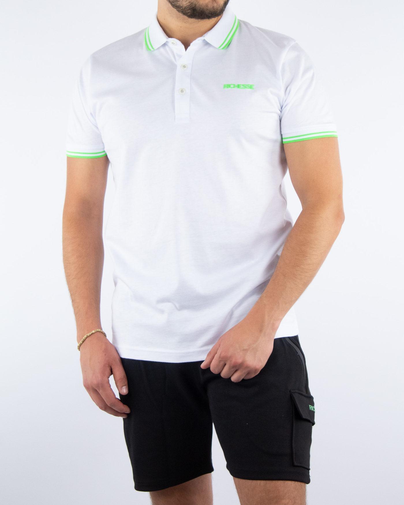 Sport White Polo-1