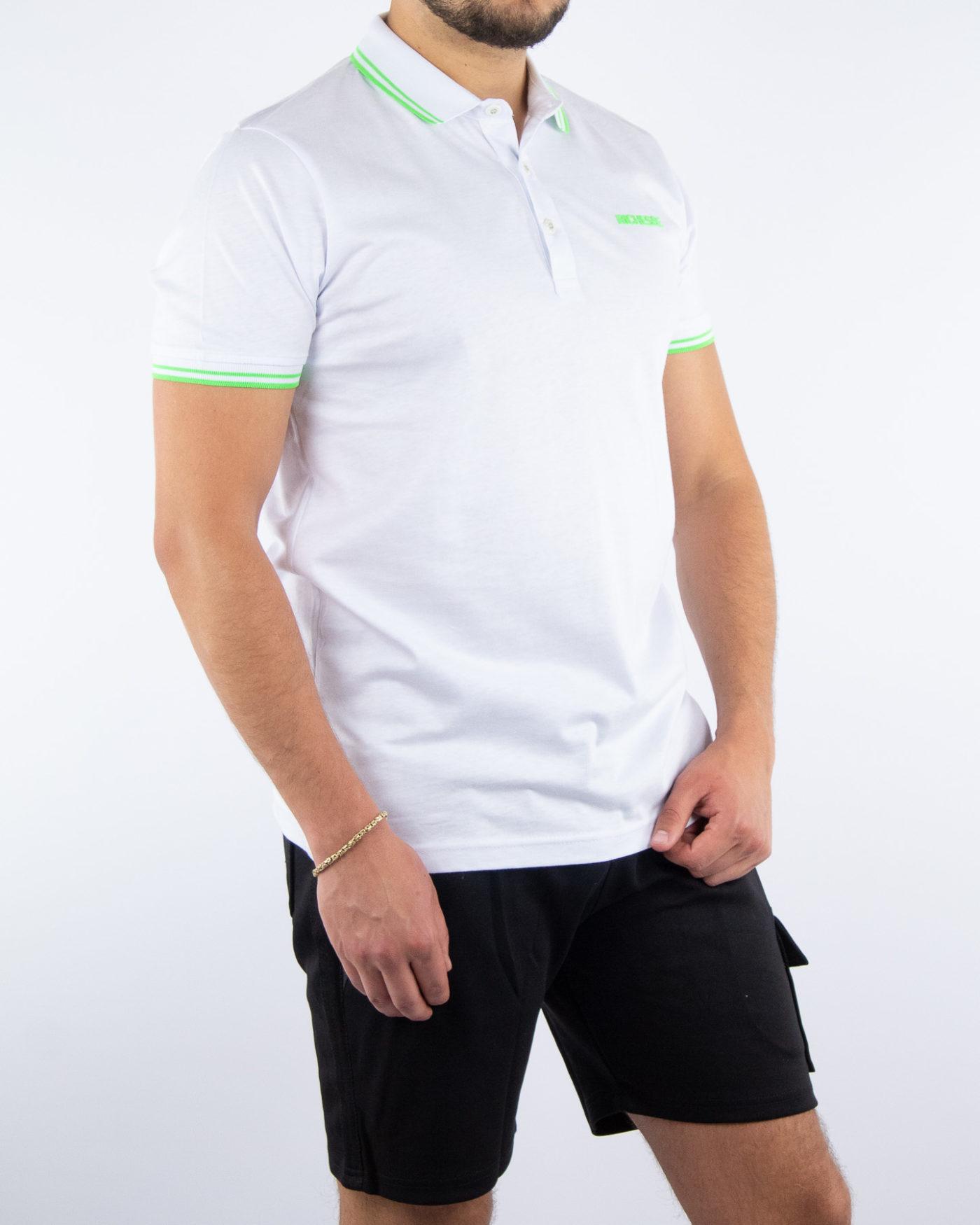 Sport White Polo-2