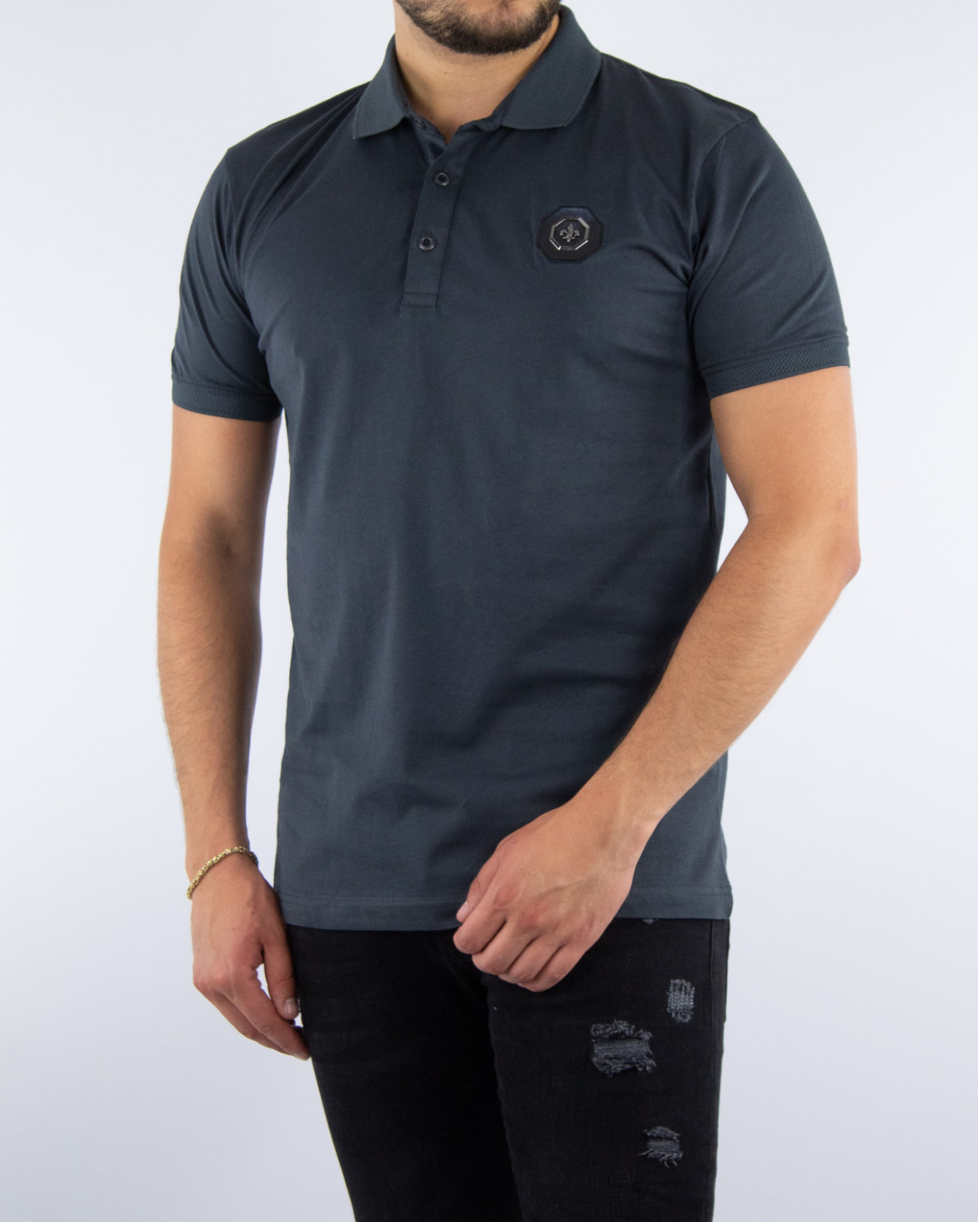 Yacht Antracite Polo-1