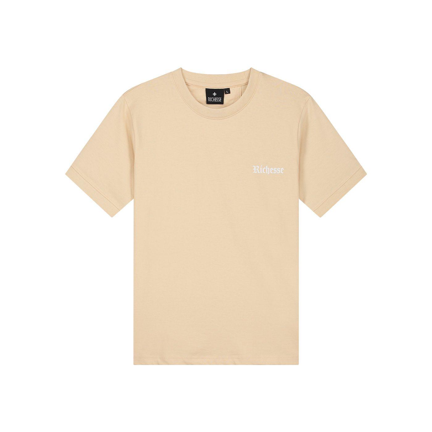 Logo-Beige-T-shirt