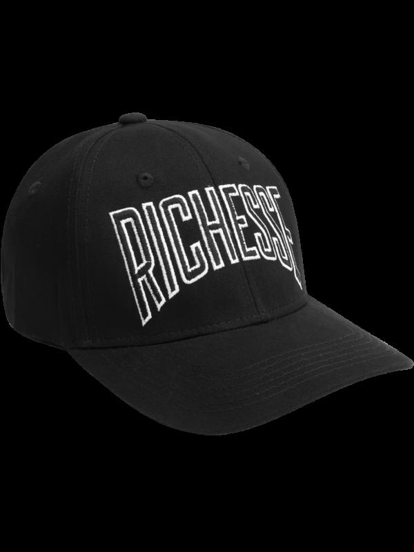 Logo Line Black Cap